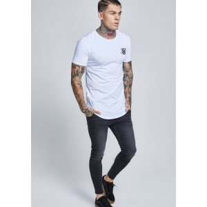 Short Sleeve Gym Tee – White