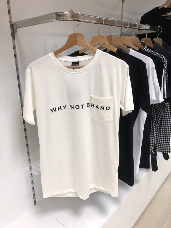 Why Not Brand Logo Tee