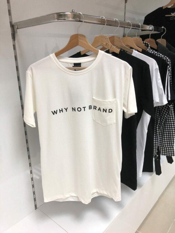 Why Not Brand Logo Tee