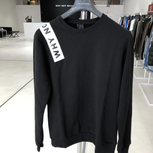 Logo Sweater – Black