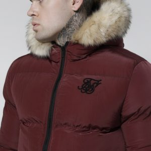 Distance Jacket – Burgundy