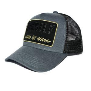 Grey Washed Trucker Cap