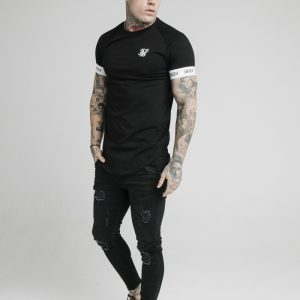 Raglan Tech Tee – Black