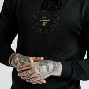 Dani Alves Muscle Fit Hoodie – Black