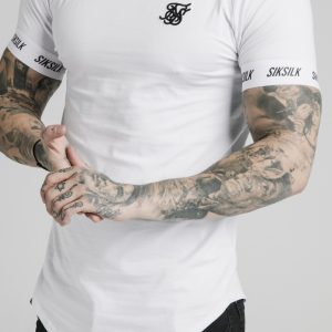 Raglan Tech Tee – White