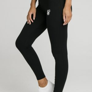 Tape Leggings – Black