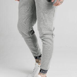 Elastic Cuf Joggers – Grey