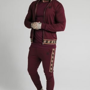 Retro Zip – Burgundy