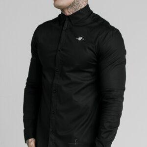 Colar Shirt – Black