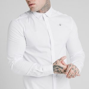 Colar Shirt – White