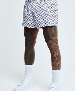 Monogram Resort Shorts – White