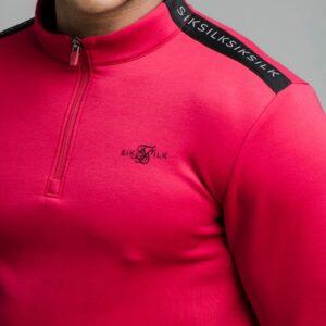 Zip Sport Top – Pink Fluro