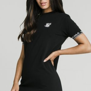 Core Tech Tee Dress –  Black