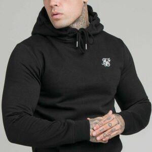 Muscle Fit Hoodie – Black