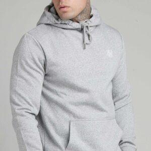 Muscle Fit Hoodie – Grey